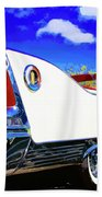 Vehicle Launch Palm Springs Beach Towel