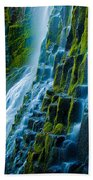 Veiled Wall Beach Towel