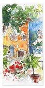 Velez Rubio Townscape 03 Beach Towel