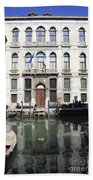 Venetian Canal Beach Towel