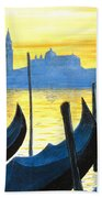 Venezia Venice Italy Beach Towel by Jerome Stumphauzer