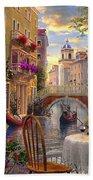 Venice Al Fresco Beach Towel by Dominic Davison