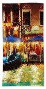 Venice Glow Beach Towel