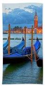 Venice View To San Giorgio Maggiore Beach Sheet