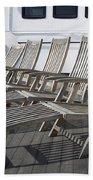 Verandah Seating 02 Queen Mary Ocean Liner Long Beach Ca Beach Towel