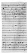 Verdi Rigoletto, 1850 Beach Sheet