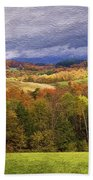 Vermont Colors Beach Towel