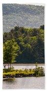 Vermonts Lake Fairlee Beach Towel