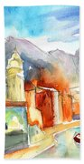 Vernazza In Italy 07 Beach Towel