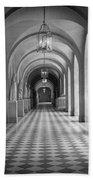 Versailles Hallway Beach Towel