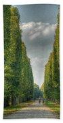 Versailles Promenade Beach Towel