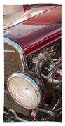 Very Cool Vintage 1930 Chrysler Hot Rod  Beach Towel