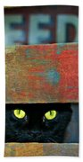 Very Supersticious  Beach Towel