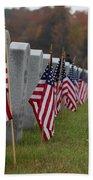 Veterans Day Beach Towel