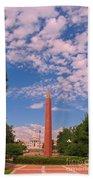 Veterans Memorial Denver Beach Towel