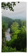 Vezere River Valley Beach Towel