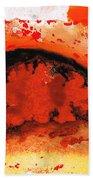 Vibrant Abstract Art - Leap Of Faith By Sharon Cummings Beach Sheet