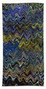Vibrant Colors Beach Towel