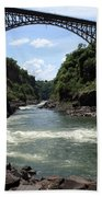 Victoria Falls Bridge - Zambia Beach Towel