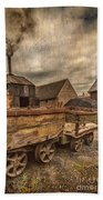 Victorian Colliery Beach Towel by Adrian Evans