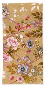 Victorian Floral Pattern Phone Case Beach Towel