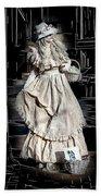Victorian Lady Beach Towel by John Haldane