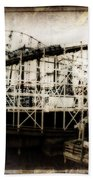 Victorian Roller Coaster Beach Sheet