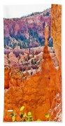 View At Beginning Of Navajo Trail In Bryce Canyon National Park-utah Beach Towel