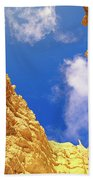 View From Of Bryce Canyon Beach Towel by Yva Momatiuk John Eastcott