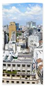 View From Edificio Martinelli - Sao Paulo Beach Towel