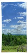 View From Monticello Beach Towel