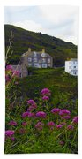 View From Port Isaac Beach Towel