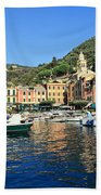view in Portofino Beach Towel