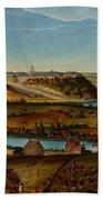 View Of Fort Snelling Beach Towel