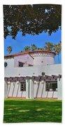 View Of Ole Hanson Beach Club San Clemente Beach Towel