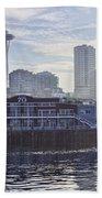 View Of Pier 70 Beach Towel