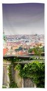 View Of Prague Beach Towel