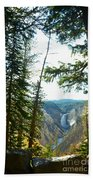 View Of The Canyon Beach Towel