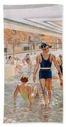 View Of The First Class Swimming Pool Beach Towel