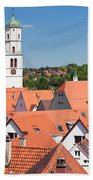 View Of The Old Town With St. Martins Beach Towel