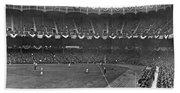 View Of Yankee Stadium Beach Towel