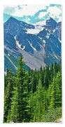 View On Trail To Lake Agnes In Banff Np-alberta Beach Towel
