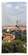 View Over Florence Beach Towel