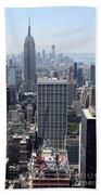 View Over Manhattan I Beach Towel