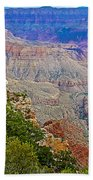 View Seven From Walhalla Overlook On North Rim Of Grand Canyon-arizona Beach Towel