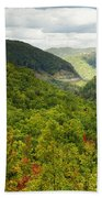 View To The Valley Beach Towel
