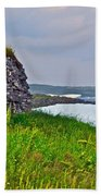Viking House On Fishing  Point In Saint Anthony-nl Beach Towel
