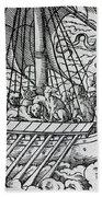Viking Ship Beach Towel