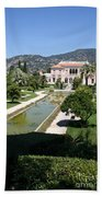 Villa Ephrussi De Rothschild And Garden Beach Towel