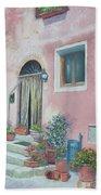 Villa In Il Borro Tuscany Beach Towel